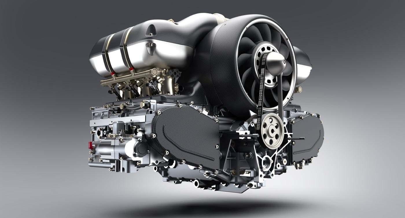 Moottoreita, isoja ja pieniä